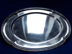 800-as finomságú Gyönyörű MAGYAR antik ezüst tálca eladó