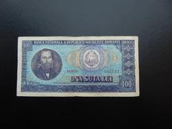 100 lei 1966 Románia  03