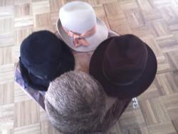 Női kalap 3 db