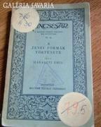 A ZENEI FORMÁK TÖRTÉNETE 1931.