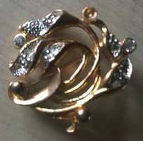 MOVITEX -márkájú aranyozott fém KITŰZŐ