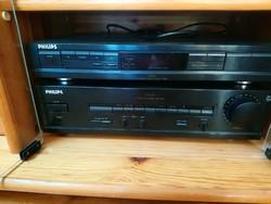 Philips FA630 erősítő és Philips rádió