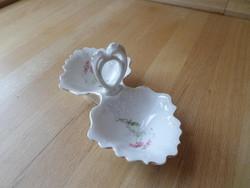 Antik MZ (Moritz Zdekauer) szecessziós porcelán sótartó