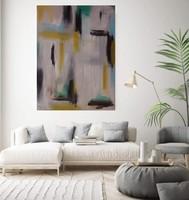 FAINTING absztrakt festmény - Kuzma Lilla
