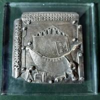 Legnaghi: Noé bárkája plakett, kisplasztika, dombormű