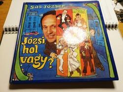 Sas József könyv lemezzel