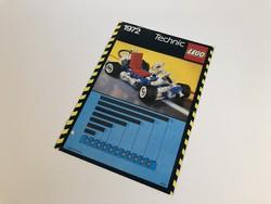 LEGO Technic 1972 Go-Kart  - Leírás összerakási füzet 1985