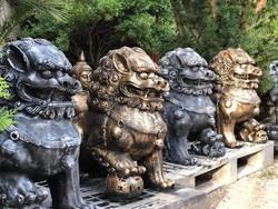 Távol keleti foo (oroszlán kutya párban)