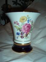 Vintage Royal Dux porcelán váza