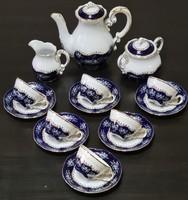 Zsolnay Pompadour II mokkás / kávéskészlet 6 személyes