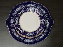 Zsolnay Pompadour II süteményes készlet