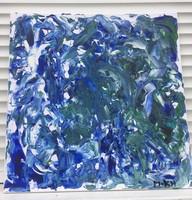 Absztrakt-Kék Vihar
