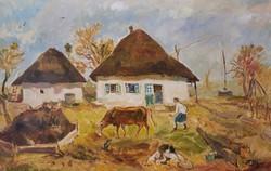 Puha Péter festmény