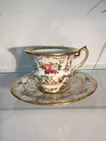 Antik Empire porcelán csésze és alj P310