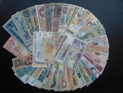 50 darab külföldi bankjegy LOT - MIX !  02
