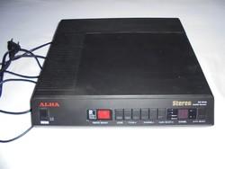 ALBA szatelit műholdvevő - Retro TV antenna elektronikai eszköz - 1988-as