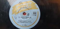 POGÁNY LÁSZLÓ ÉNEKEL - TONALIT MŰVÉSZ ZENEKAR -    78 RPM GRAMOFON LEMEZ