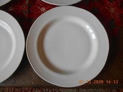 Zsolnay lapos tányér 6 db
