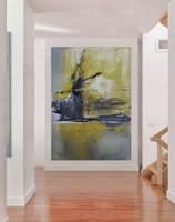 EXCITING absztrakt festmény - Kuzma Lilla