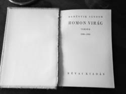 Reményik Sándor: Romon virág  (versek 1930-1935)