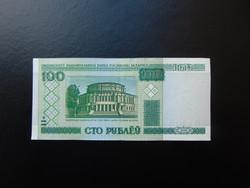 100 rubel 2000 Fehéroroszország