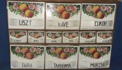 Gránit Kispest fűszertartó készlet.