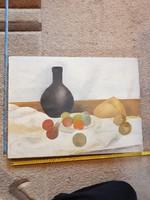 Festmény, olaj, vászon, csendélet...