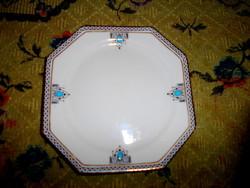 Angol  tányér- kézi festéssel