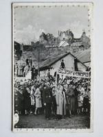 FÜLEK, A FELVIDÉK FELSZABADULÁSÁNAK EMLÉKÉRE, FOTÓ 1938, KÉPESLAP (9X14 CM) EREDETI