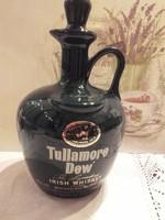 Angol porcelán Tullamore Draw  irish whiskey palack, karaffa, dekanter, kiöntő