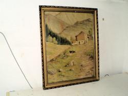 Szinyei szignóval olaj,festmény