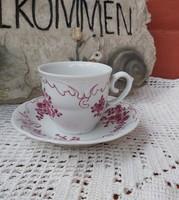 Gyönyörű Hollóházi Barokk kávéscsésze , csésze nosztalgia darab