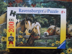 Lovak – puzzle 2. (200 db, Ravensburger)