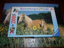 Lovak – puzzle 1. (200 db, Ravensburger)