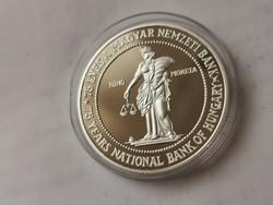 75 éves a nemzeti bank ezüst 75 Ft 31,46 gramm 0,925 PP R