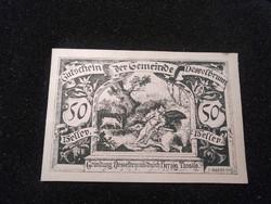 Hajtatlan 50 Heller 1920