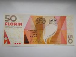 Aruba 50 florin 1993 UNC  Nagyon Ritka!