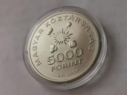 Teller Ede ezüst 5000 Ft 31,46 gramm 0,925