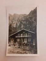 Régi képeslap 1943 Magas-Tátra képes levelezőlap