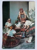SÁRPILISI NÉPVISELET, POST CARD, KÉPESLAP 1967,FOTÓ: SZENTTORNYAI FERENC (11X16 CM) EREDETI