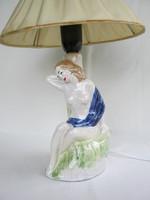 Kerámia lámpa női akt