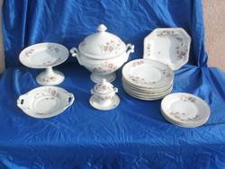 Antik porcelán étkészlet