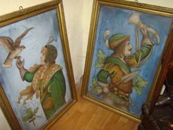 Antik festmény bútor vitrin komód trónszék eladók