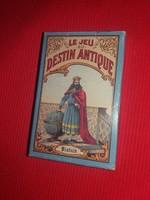 Antik jellegű PIATNIK 32 lapos francia tarokk jóskártya dobozával gyűjtőknek a képek szerint
