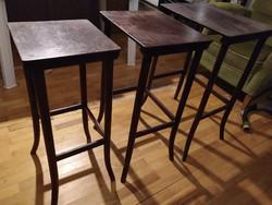 Thonet kis trió asztalkák