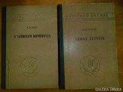 Népszerű drámák két kötete