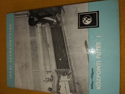 Milley Vilmos · Völgyes István:Központi fűtés 1- 2. 1972.1500.-Ft