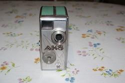 AK-8 filmfelvevő, kamera