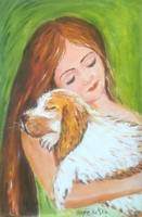 Hepp Natália: Kis kutyával