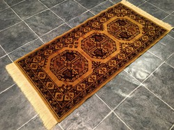 Gyapjú PERZSA szőnyeg - Tisztítva, 70 x 156 cm